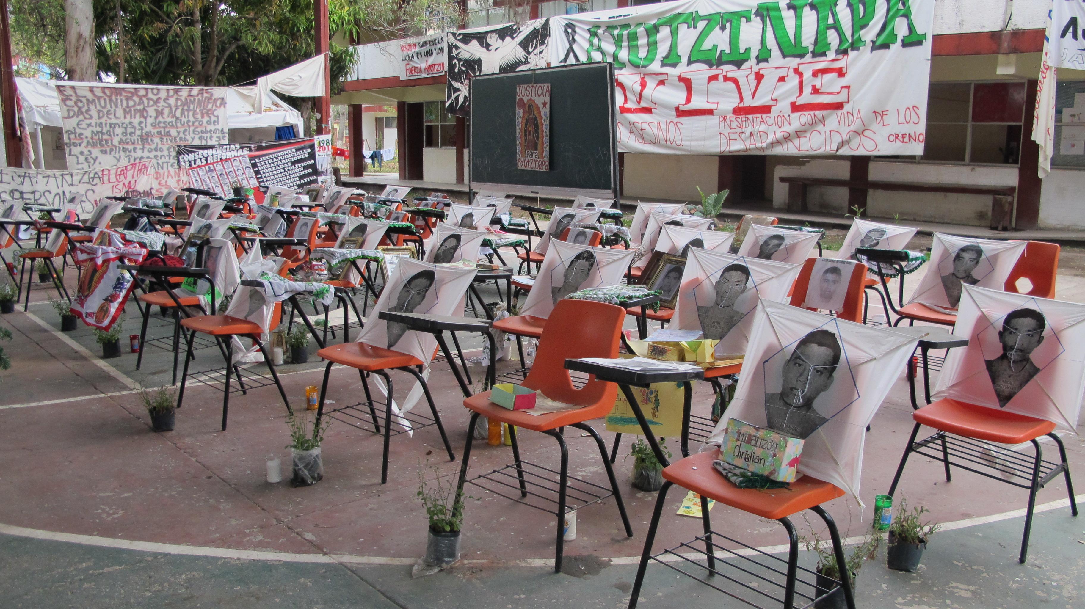 Historia de la Escuela Normal Rural de Ayotzinapa en la Escuela Normal Rural